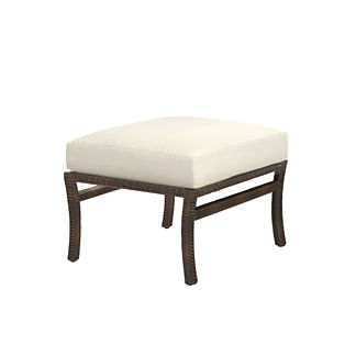 Skye Ottoman with Cushion by Summer Classics