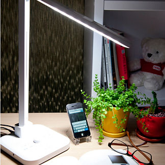 Natural Light LED Desk Lamp with Bluetooth Technology