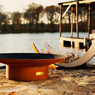 Asia Fire Pit by Firepit Art
