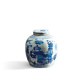 Bulb Lidded Jar