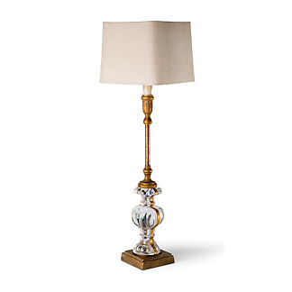 Parisian Glass Buffet Lamp