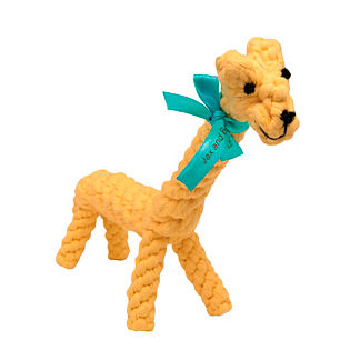 Jerry the Giraffe Dog Rope Toy