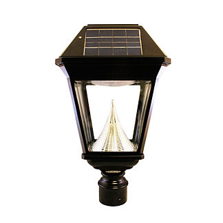 Regency Solar Pole-Mount Lamp