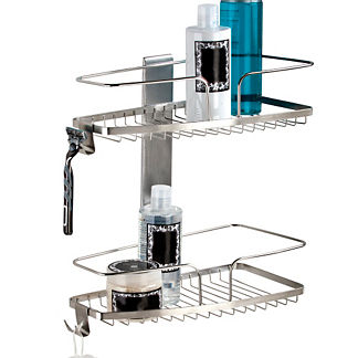 FineLine 2-Tier Shower Basket