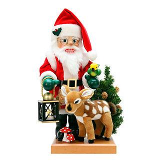 Christian Ulbricht Santa and Deer Nutcracker