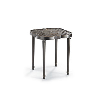Glen Isle Quatrefoil Side Table Cover