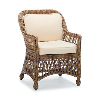 Hampton Dining Arm Chair Cover