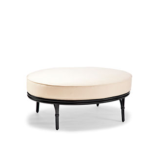 Wilshire Oval Ottoman Cover
