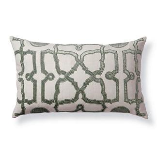 Velvet Trellis Decorative Pillow