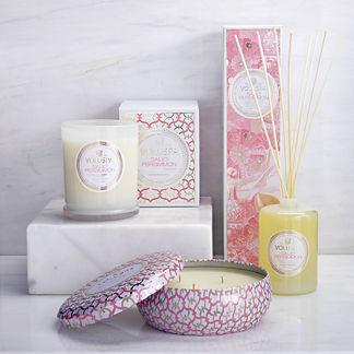 Voluspa Saijo Persimmon Candle and Diffuser Collection