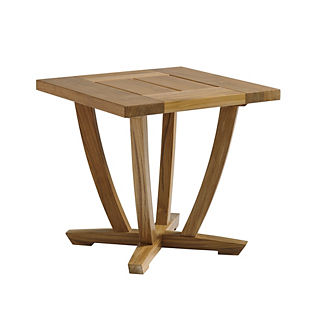 Oyster Reef Square End Table