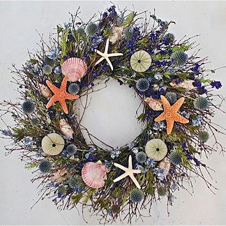 Neptune's Garden Dried Wreath