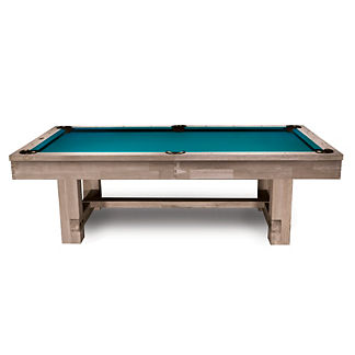 Tahoe Rustic Light Oak Pool Table