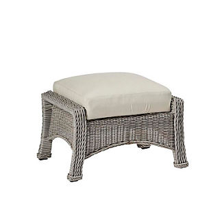 Regent Ottoman with Cushion by Summer Classics