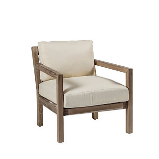 Club Teak Lounge Chair with Cushion by Summer Classics