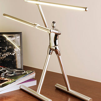 Commit to Max Artistic LED Lamp