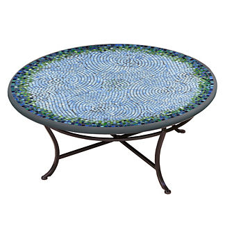 KNF Belize Round Single-Tiered Coffee Table
