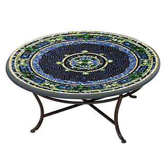 KNF Lake Como Round Single-Tiered Coffee Table