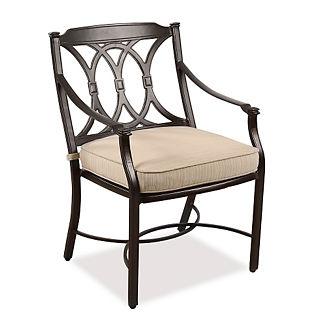 Orbetello Dining Arm Chair Cushion