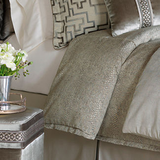 Ezra Tufted Comforter by Eastern Accents