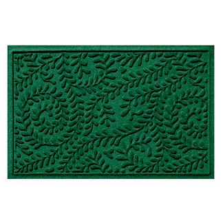 Water & Dirt Shield™ Boxwood Monogrammed Entry Mat