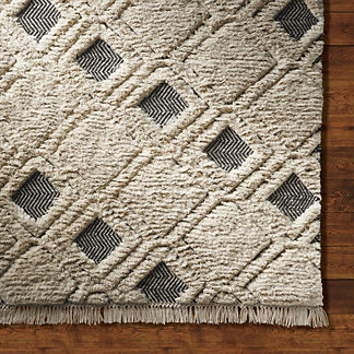 Ensley Natural Viscose Area Rug