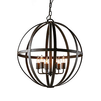 Medium Orb Chandelier