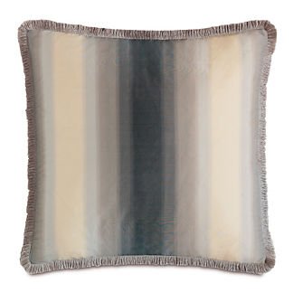 Ezra Brush Fringe Decorative Pillow