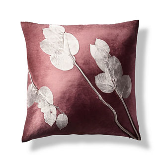 Lemon Leaf Decorative Pillow by Aviva Stanoff