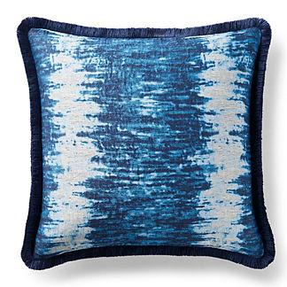 Caravan Marine Brush Fringe Decorative Pillow