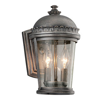 Bronte 2-Light Wall Lantern