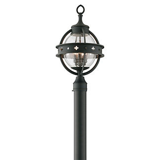 Oliver Post Mount Wall Lantern