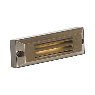 Solid Brass LED Step Light