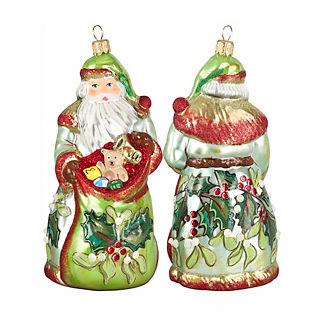 Bratislava Santa Mistletoe Ornament