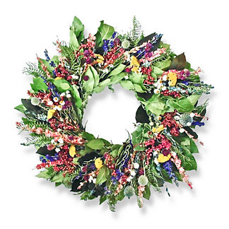 New Wildberries Dried Wreath