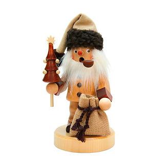 Christian Ulbricht Natural Santa with Tree and Sack Smoker