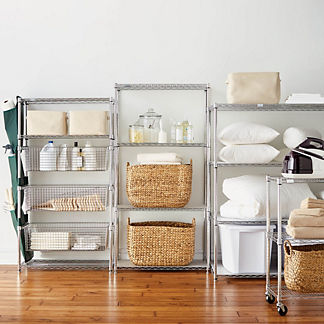 Four-Tier Shelf & Liners