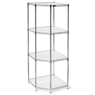 Four-Tier Corner Shelf & Liners