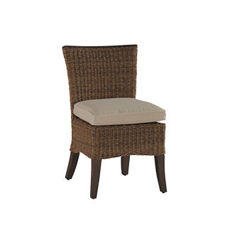 Royan Dining Side Chair with Cushion by Summer Classics