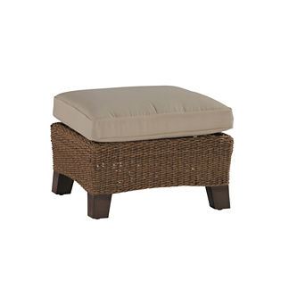 Royan Ottoman with Cushion by Summer Classics