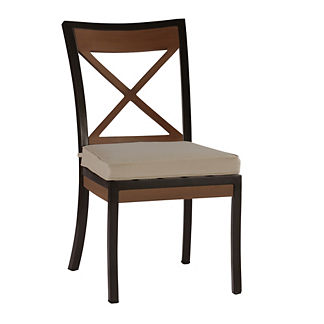 Belize Side Chair with Cushion by Summer Classics