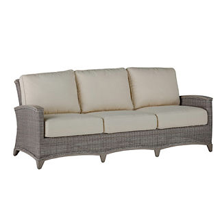 Astoria Wicker Sofa with Cushions by Summer Classics