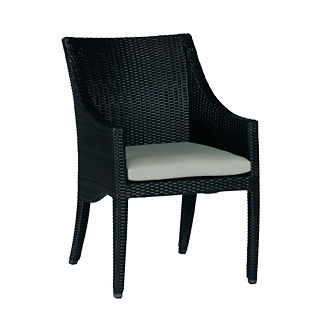 Athena Dining Arm Chair with Cushion by Summer Classics
