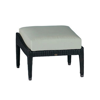 Athena Ottoman with Cushion by Summer Classics