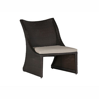 Athena Sand Chair with Cushion by Summer Classics
