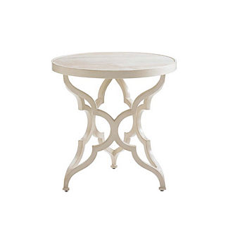 Misty Garden Round Accent Table by Tommy Bahama
