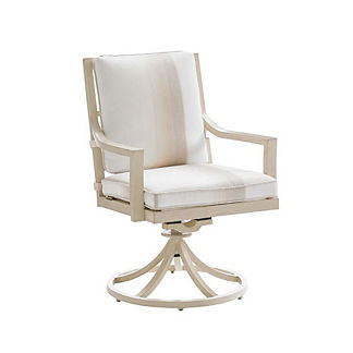 Misty Garden Swivel Rocking Lounge Dining Chair with Cushion by Tommy Bahama