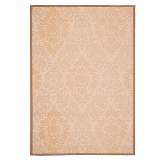 Courtyard Damask Indoor/Outdoor Rug