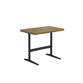Grid Rectangular Side Table