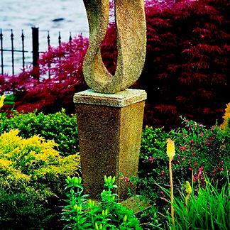 Eternal Garden Contemporary Vase Pedestal
